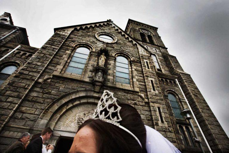 Bride's crown.