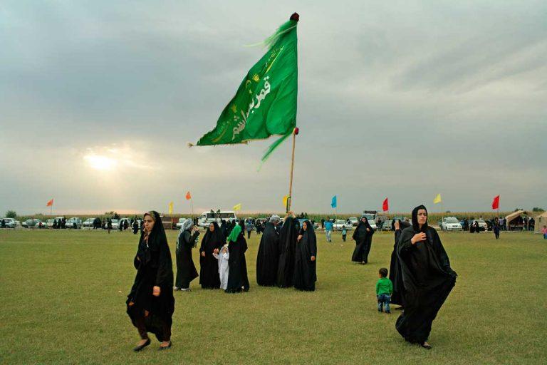 Celebration of Ashura in Shush. Iran, November 2014.