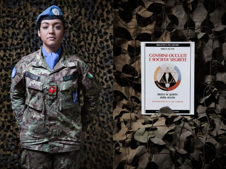 """Corporal Maria Teresa Di Cuia. My favorite writer is Oriana Fallaci, who is also the woman that I admire the most. Before coming to Lebanon I read Martyrdom of a Nation by Robert Fisk, it is a book I would recommend to all my colleagues to read. It explains why we are here today. The most beautiful book I've ever read is """"A Man"""" by Fallaci, is the story of a Greek anarchist assassinated because he opposed the military regime. I read ten books per year."""