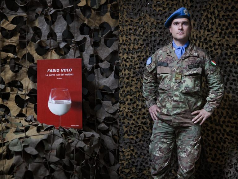 Warrant Officer Giovanni Piccirillo. I prefer Italian writers because they have nothing to envy to foreigners ones. Long live to made in Italy! I met Stefano Benni, is my favorite writer. In his books I can find humor even in tough situations. I also like Fabio Volo because he is chameleon-like, able to do everything. Reading makes me see the world from a different perspective and think differently from my collegues.