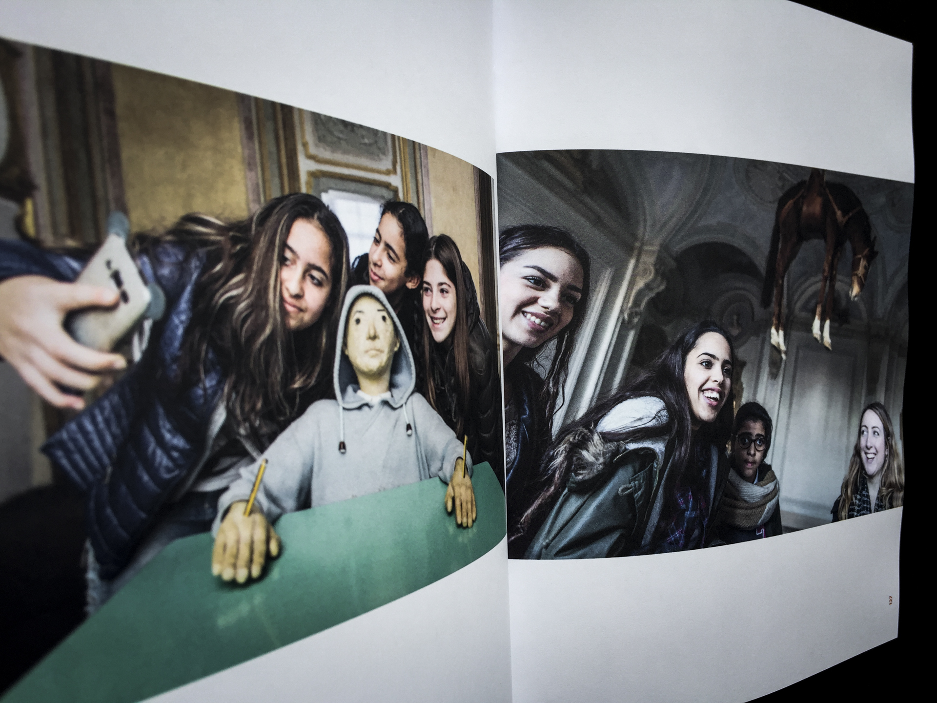 Arte alla Luce - book edited by MiBAC and Save the Children 2018