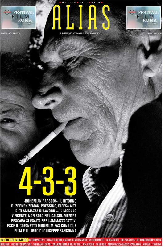 ALIAS, Il Manifesto - Italy - October 2011
