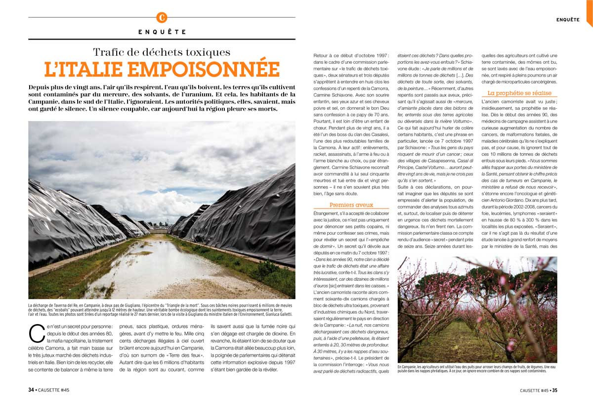 Causette - France - April 2014