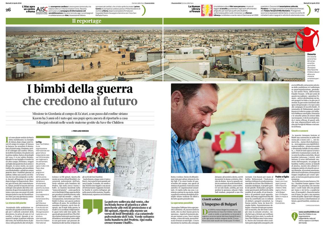 Corriere della Sera - Italy - 2018
