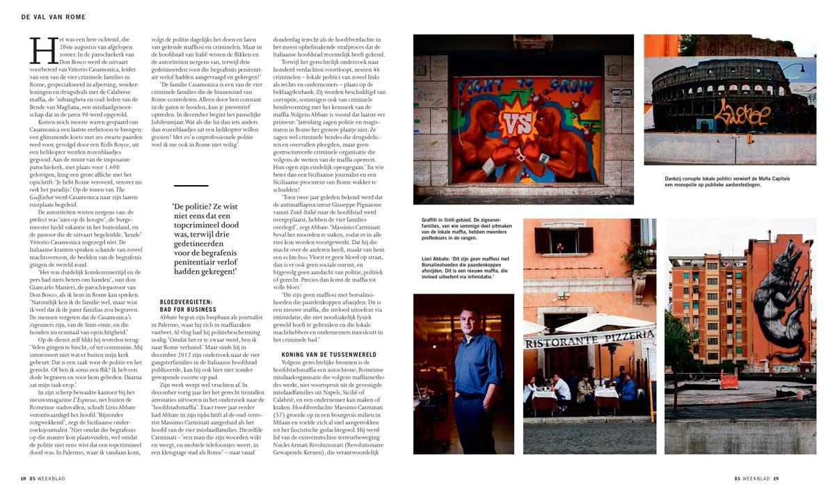 De Standaard Magazine - Belgium - November 2015