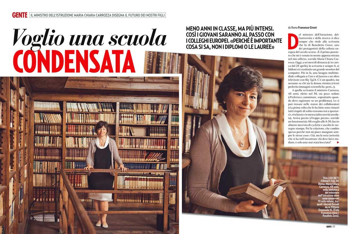 Gente - Italy - November 2013