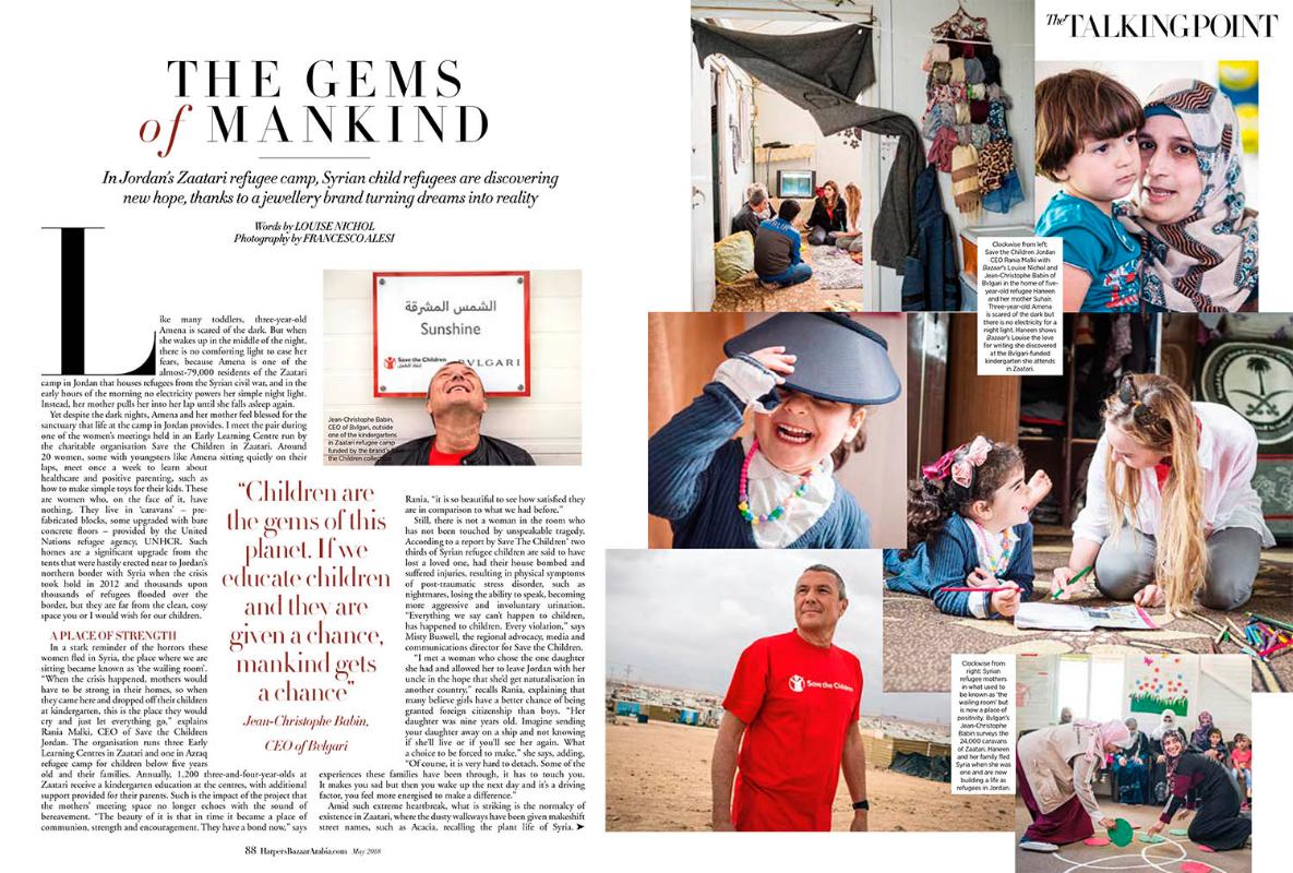 Harpers Bazar Magazine - Dubai - 2018