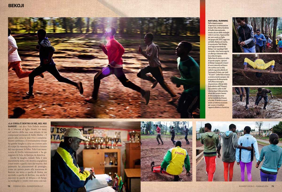 Runner's World - Italy - February 2014